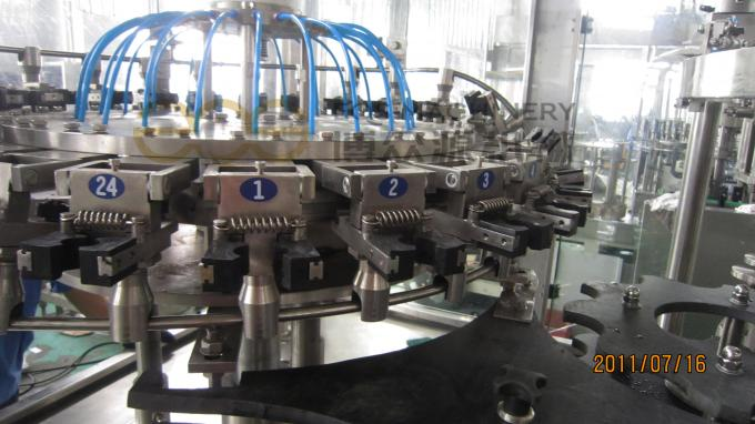 1.5L Bottle Carbonated Drink Filling Machine , Washing Filling Capping Machine 15000BPH