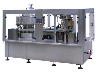 Adjustable Sparkling Water PET Can Filling Machine Industrial Line 2000 Cans / Hour