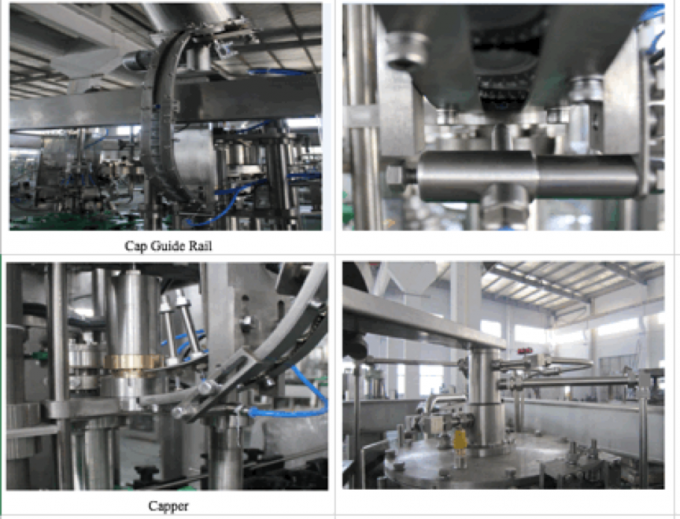 500BPH - 800BPH Beer Bottling Machine Equipment Production Line Small Capacity