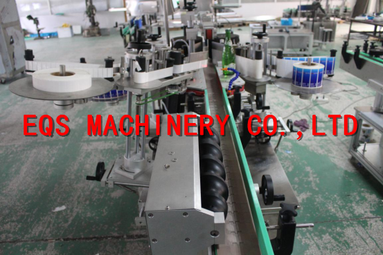 Round Cans / Jars Automatic Labeling Machine 1-30 m / min 120mm width