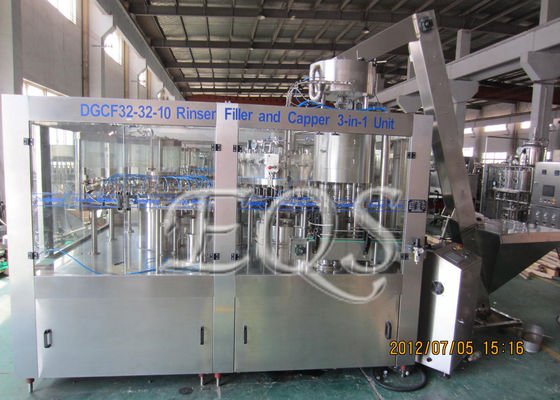 China 275ml Carbonated Beverage Filling Machine supplier