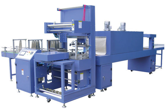 China Fully - auto PP PE Shrink Film packaging Machine 15KW / h 600mm width supplier
