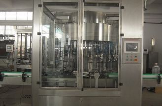 Lubricating Oil Rotary Filling Machine 3000BPH PLC Control Without Drops