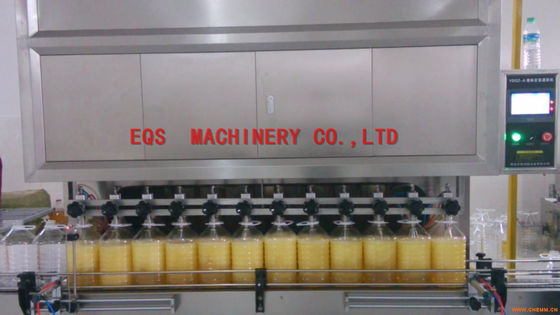 SUS316 Sesame Oil Auto Filling Machine 1500bph CE ISO Certificated