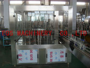 China 6000BPH whisky Wine Bottle Filling Machine , Glass Bottle 3-In-1 Alcohol Filling Machine factory
