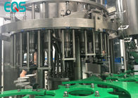 Glass Bottle 4 in 1 Monoblock Pulp Juice Filling Machine With PLC Control