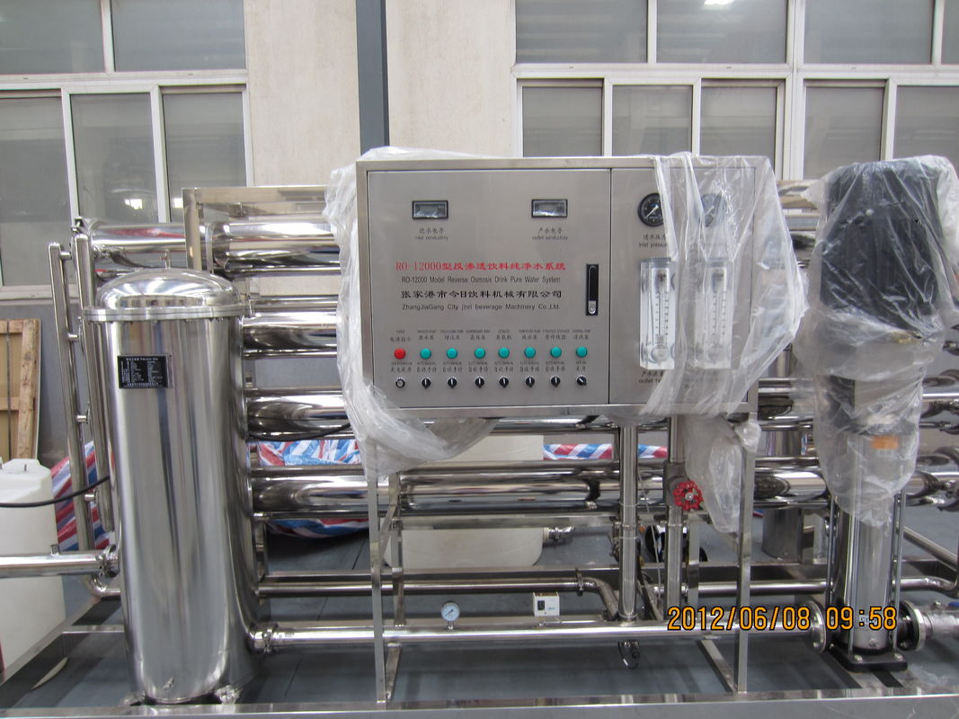 Auto Water Treatment Equipments UV Sterilizer For Raw Water / Drink Materials