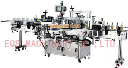 Front Back Neck Three Labels Self Adhesive Sticker Labeling Machine 50-60 HZ 3PH