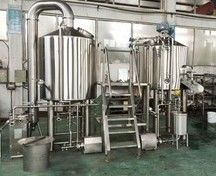600L Brewery Plant Manual Micro Brewing Equipment With Wort Detecting Station