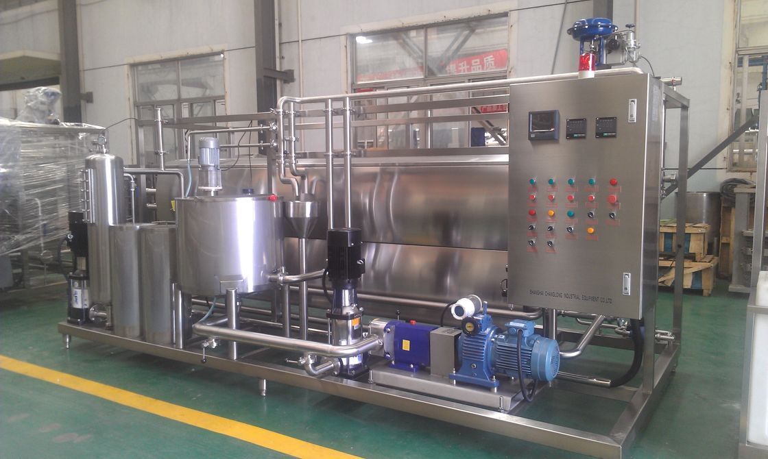 316L Stainless Steel Soy Milk Aseptic Sterilization Low Maintenance