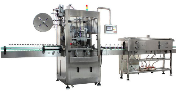 Commodity Fully Automatic Labeling Machine For Rectangular / Oval Containers