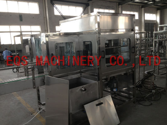 4 Working Position Rotary Filling Machine Out Brusher For 5 Gallon Water Production Line
