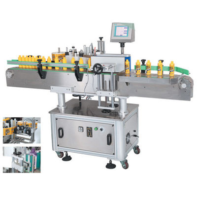 Automatic Double Sides Round Bottle Labeling Machine / Shrink Sleeve Labeling Machine