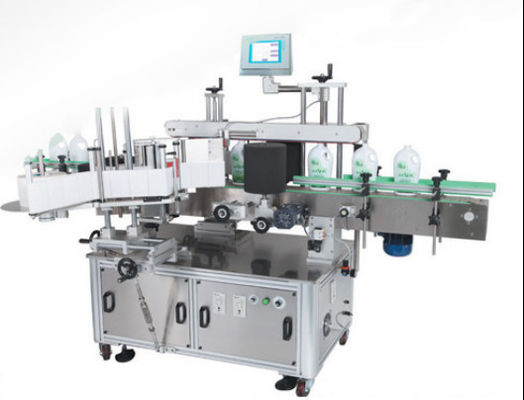 Double Labels Automatic Labeling Machine , Self Adhesive Labelling Machine